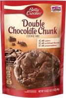 Betty Crocker Cookie Mix Double Chocolate Chunk 496g