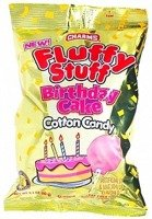 Charms Fluffy Stuff Birthday Cake Candy Floss 60g