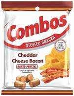 Cheddar Cheese Bacon Pretzel Combos 179g