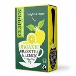 Clipper Fairtrade Organic Green Tea & Lemon 20  Bags