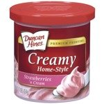 Duncan Hines Strawberry and Cream Frosting