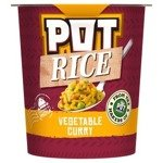 Pot Rice Vegetable Curry Snack Pot 87g