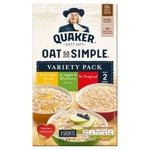 Quaker Oat So Simple Variety Pack