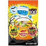 Sour Patch & Swedish Fish Halloween Variety Pack (100 pcs) 1.5kg