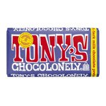 Tony's Chocolonely Dark Milk Chocolate Pretzel Toffee 42% 180g