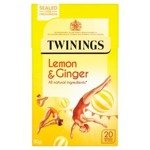 Twinings Lemon & Ginger 20S