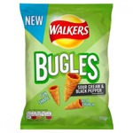 Walkers Buggles Sour Cream & Black Pepper