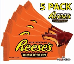 5 x Reese's 3 Peanut Butter Cups -10%