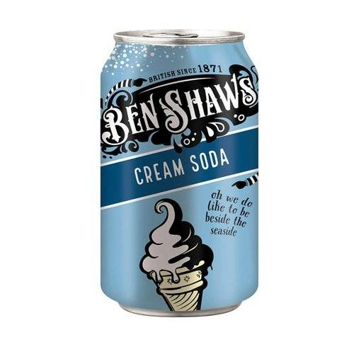 Ben Shaws Cream Soda Classic 330ml