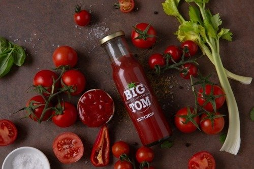 Big Tom Pikantny Ketchup 260g