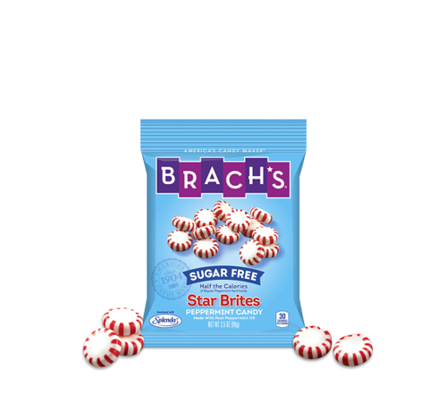 Brach's Sugar Free Peppermint Star Brites Candy