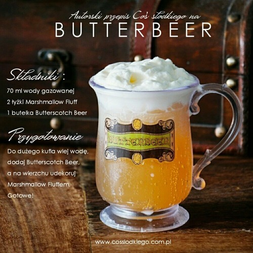 Harry Potter Butterscotch Beer - Kremowe Piwo