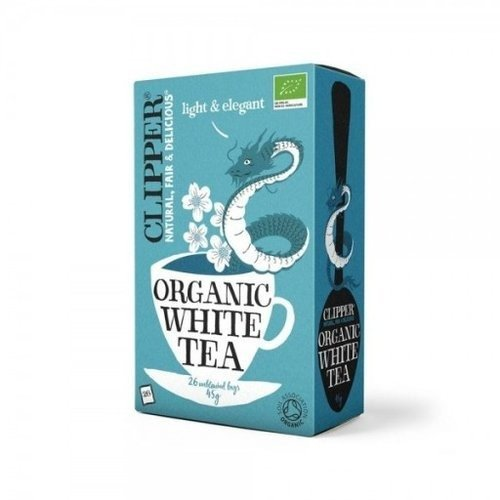 Clipper Organic White Tea 40 Bags