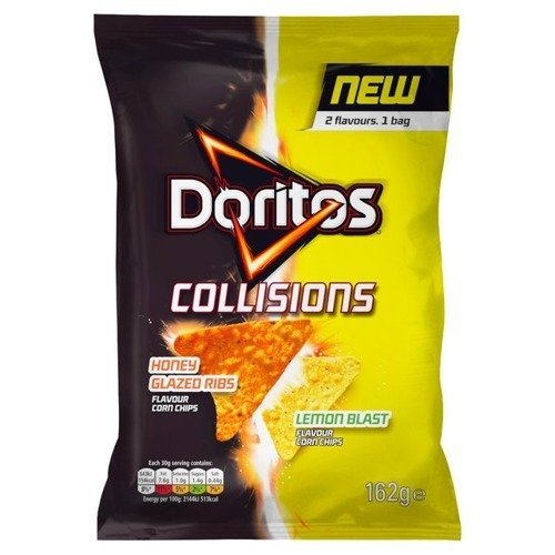 Doritos Collisions Honey Glazed Ribs & Lemon Blast