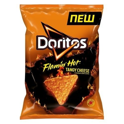 Doritos Flamin' Hot Tangy Cheese Tortilla Chips 150g