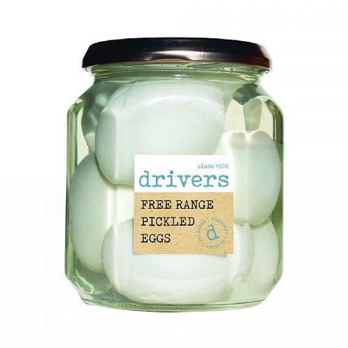 Drivers Free Range Pickled Eggs 550g