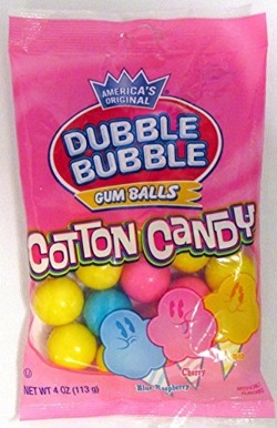 Dubble Bubble Cotton Candy Gumballs