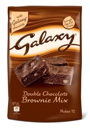 Galaxy Double Chocolate Brownie Mix
