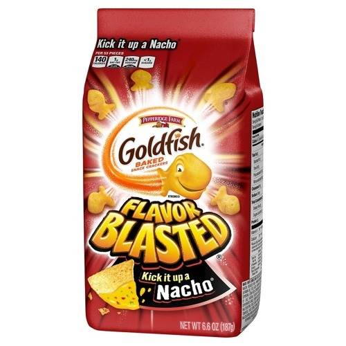 Goldfish  Flavor Blasted Xtra Kick It Up a Nacho  187g