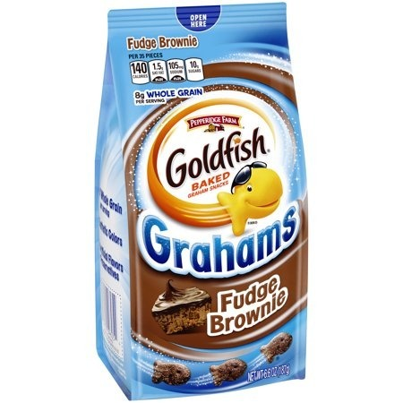 Goldfish  Grachams Fudge Brownie187g