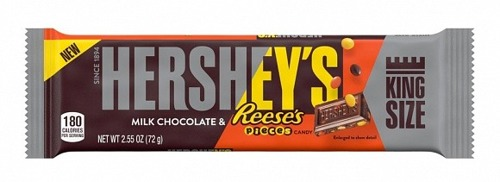 Hershey's Milk Chocolate & Reese's Pieces King Size 72g
