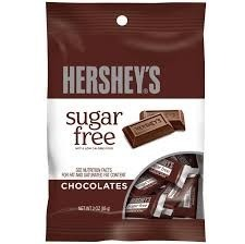 Hershey's Milk Chocolate Sugar Free 85g
