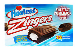 Hostess Devil's Food Cake Zingers (12)