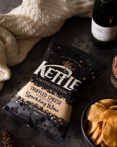 KETTLE® Limited Edition Truffled Cheese Sparkling Wine 135g