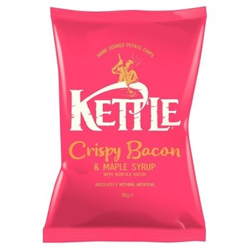 Kettle Chips Crispy Bacon & Maple Syrup 150g