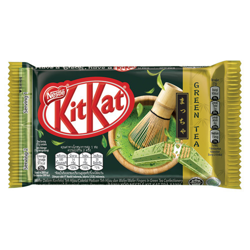 Kit Kat Green Tea 4 Fingers (Malezja)