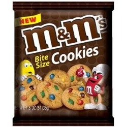 M&M's Bite Size Cookies