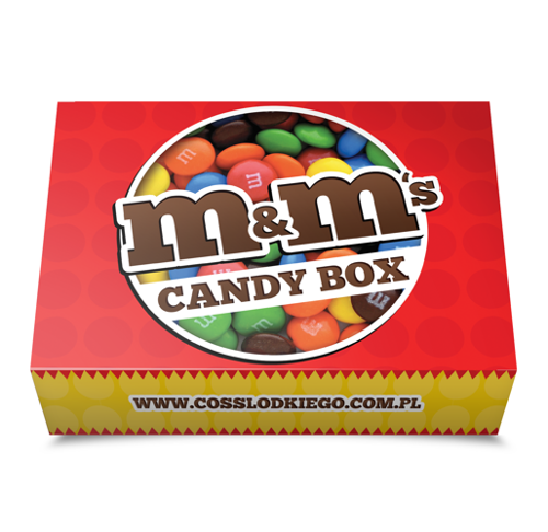 M&M's Candy Box