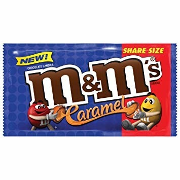 M&M's Caramel Sharing Size 80,2g