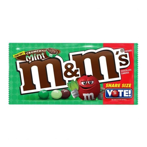 M&M's Crunchy Mint Share Size Limited Edition