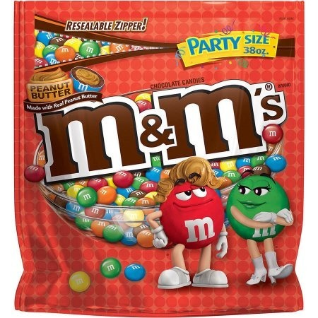 M&M's Peanut Butter  Party Size (1077,3g)