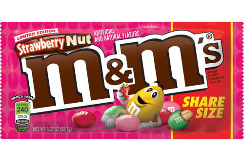 M&M's Strawberry Nut Share Size