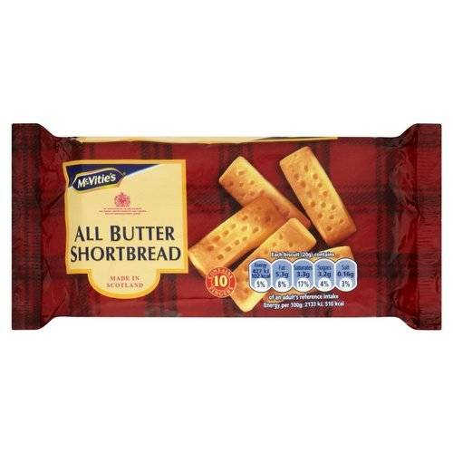 McVitie's All Butter Shortbread Fingers 200g