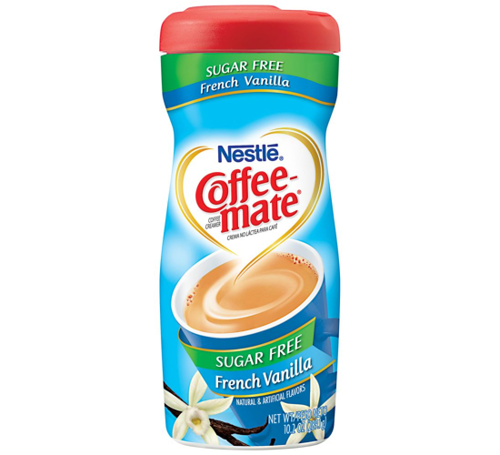 Nestle Coffee Mate French Vanilla Sugar Free