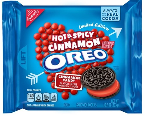 Oreo Hot & Spicy Cinnamon
