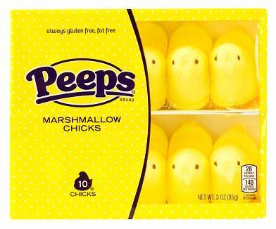 Peeps Yellow Marshmallow Chicks (10ct)