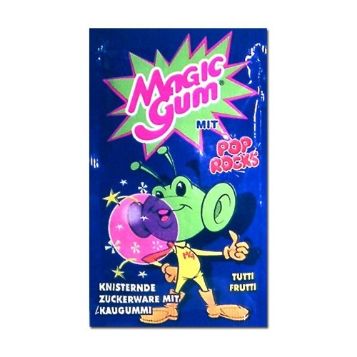 Pop Rocks Magic Gum Tutti Frutti