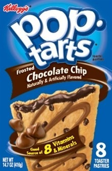 Pop Tarts Chocolate Chip