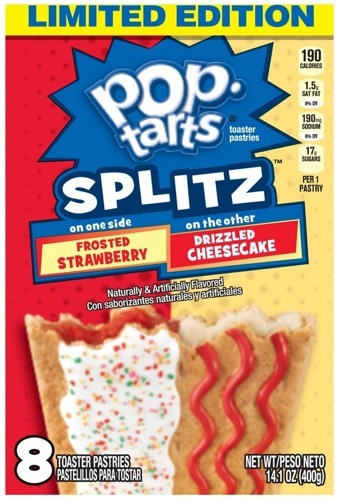 Pop Tarts Splitz Strawberry/Cheescake