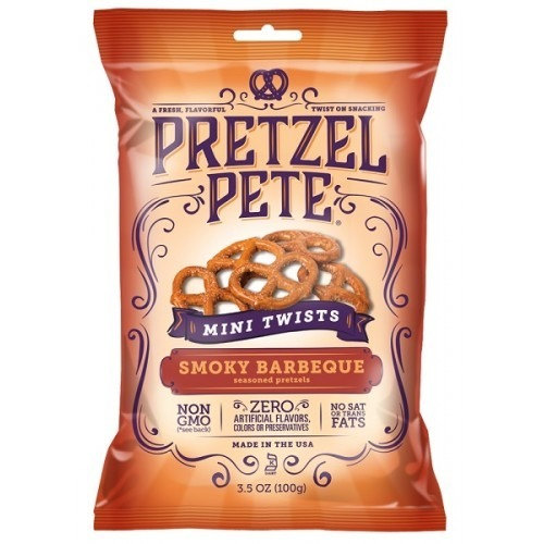 Pretzel Pete Mini Pretzel Twists - Smokey BBQ