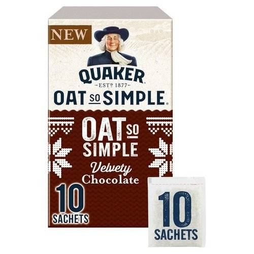 Quaker Oat So Simple Velvety Chocolate Porridge  365g