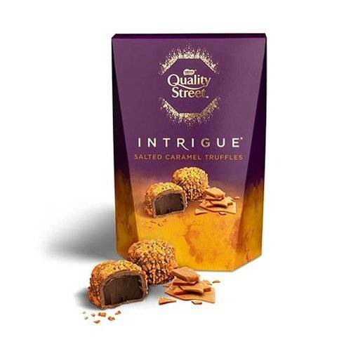 Quality Street Intrigue Salted Caramel Truffles Carton 200g