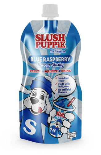 Slush Puppie The Original Blue Raspberry Flavour Slushy 3 x 250ml