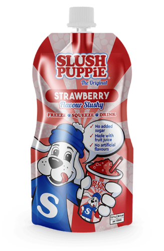Slush Puppie The Original Strawberry Flavour Slushy 3 x 250ml