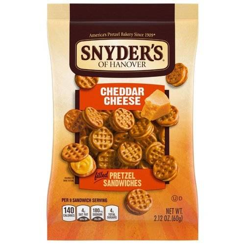 Snyder's Cheddar Cheese Sandwiches