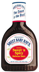 Sweet Baby Ray's Barbecue Sauce Sweet 'n' Spicy 510g